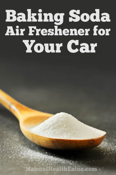 Baking Soda Air Freshener for your Car