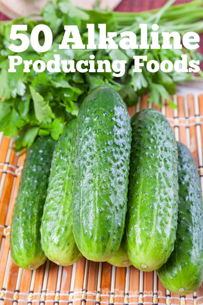 50 alkaline producing foods