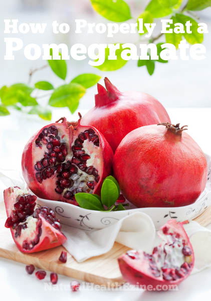 How To Eat Pomegranates