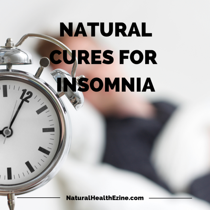 How to Get Cure for Insomnia? You don't have to live with insomnia forever. Natural cure for insomnia will not only help you sleep, but it has been noted that in some cases, you'll be able to sleep longer and who wouldn't go for that. Read on to find out more.