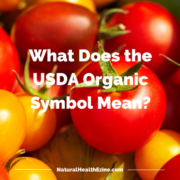 what does the usda organic symbol mean?