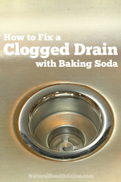How To Fix A Clogged Drain With Baking Soda