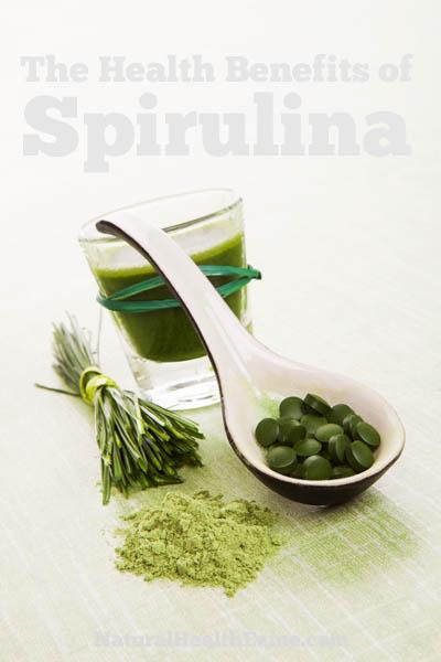 The Health Benefits Of Spirulina