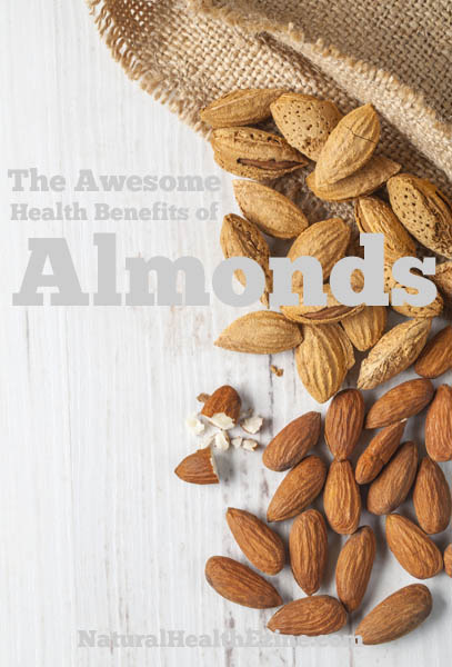 The Awesome Health Benefits Of Almonds