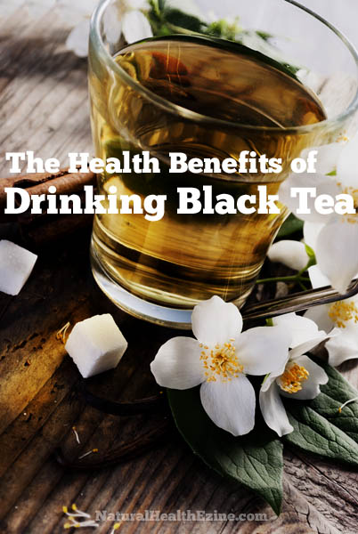 The Health Benefits of Drinking Black tea