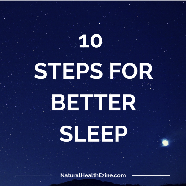 10 Steps for Better Sleep