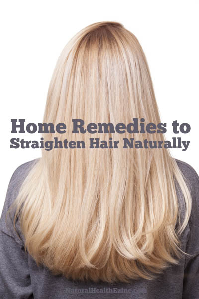 home remedies for straightening hair naturally