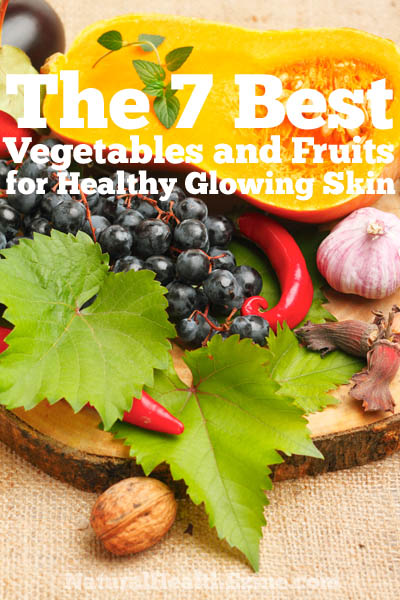 The 7 Best Vegetables And Fruits For Healthy Glowing Skin