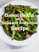 Green Beans with Balsamic Reduction Recipe