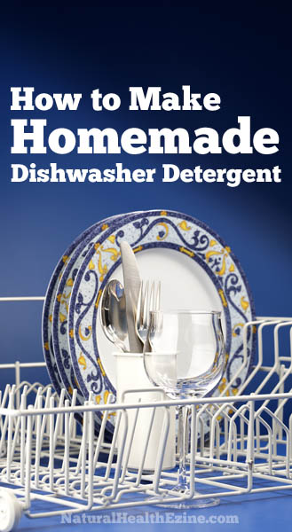 How To Make Homemade Dishwasher Detergent