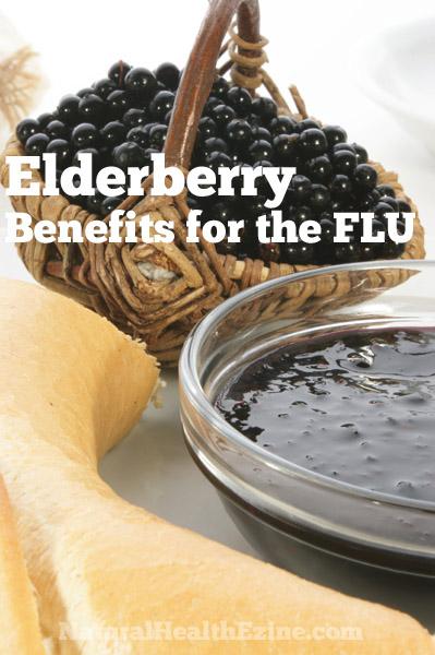 Elderberry health benefits for the FLU