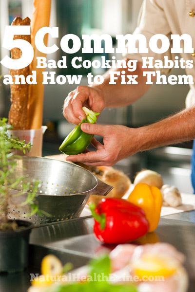 5 Common Bad Cooking Habits And How To Fix Them