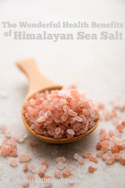 The Wonderful Health Benefits Of Himalayan Sea Salt