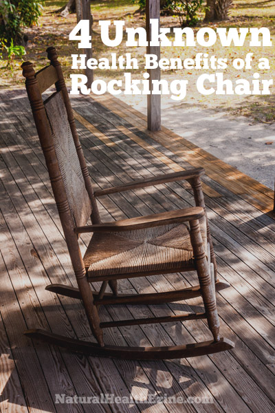 4 Unknown Health Benefits Of A Rocking Chair