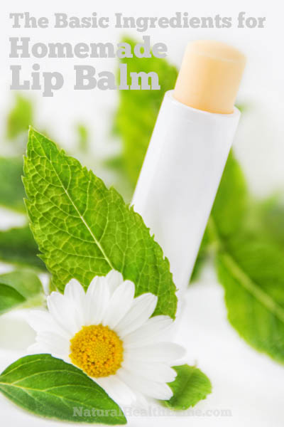 The Basic Ingredients For Homemade Lip Balm