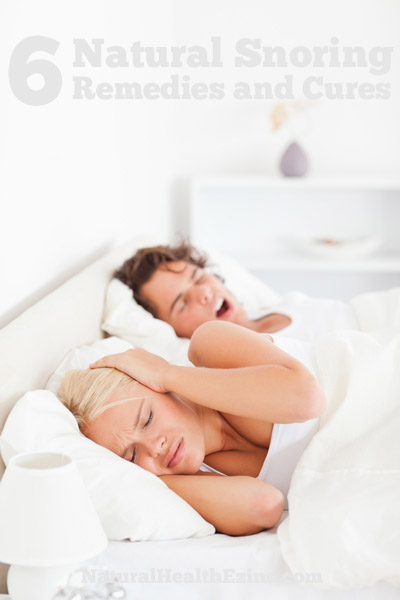 6 natural snoring remedies and cures